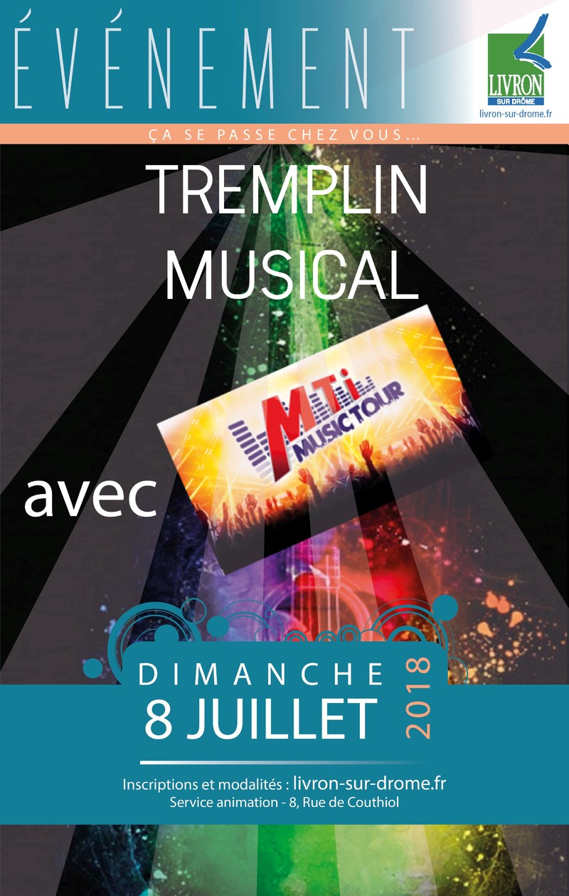 Inscription pour le tremplin musical « Jeunes talents »